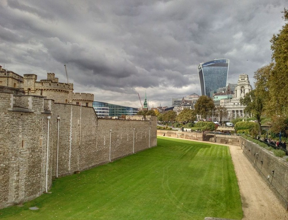 Tower of London and London's Sky Garden